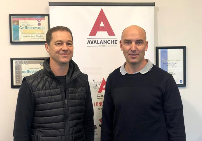 Avalanche co-owners Paul Tobin and Stefan Marusich.