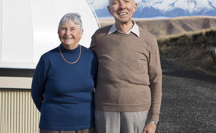 'Our 45-year marriage was written in the stars': The clever Kiwi couple brought together by astronomy