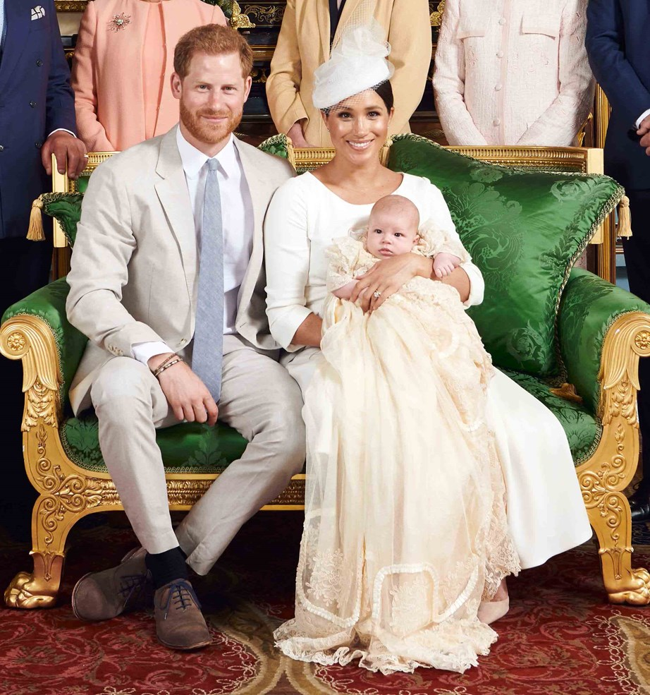 Archie's christening in July was the last proper look we've seen of the royal bub. *(Image: Chris Allerton/@sussexroyal)*