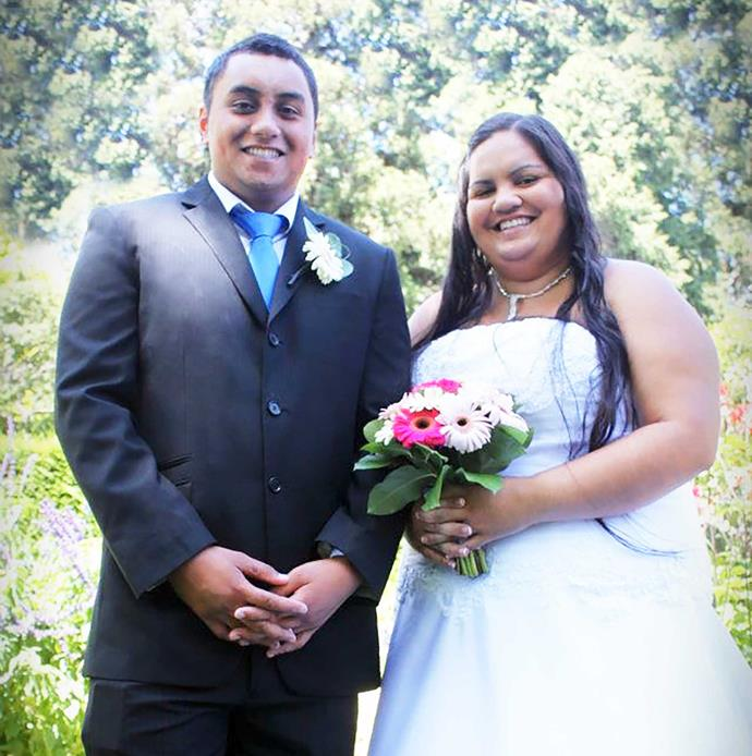 The young couple married in 2012.
