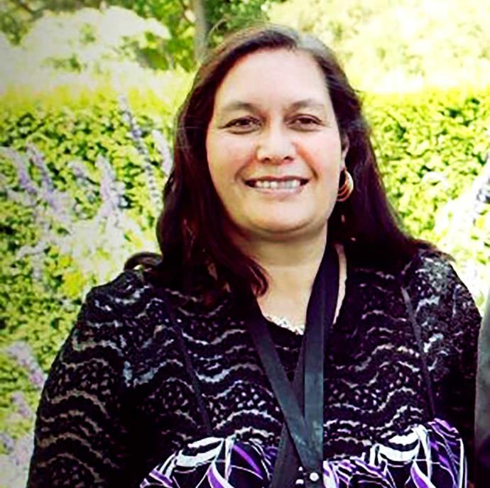 PJ's late mum Virginia.