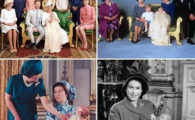 How Archie's christening photos compare to royal christenings throughout the years