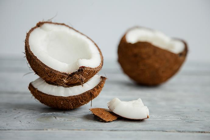 Coconuts are refreshing, hydrating and low in carbs! *(Image: Getty)*
