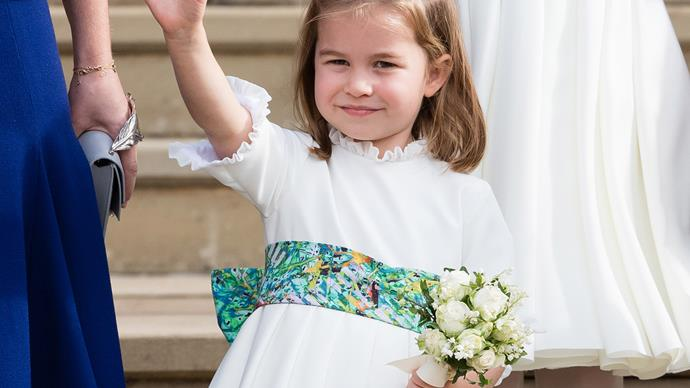 princess charlotte waving