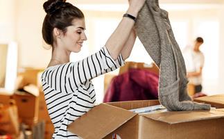Moving house downsizing