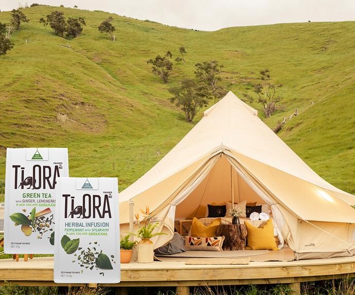 Win a $500 glamping experience thanks to Ti Ora