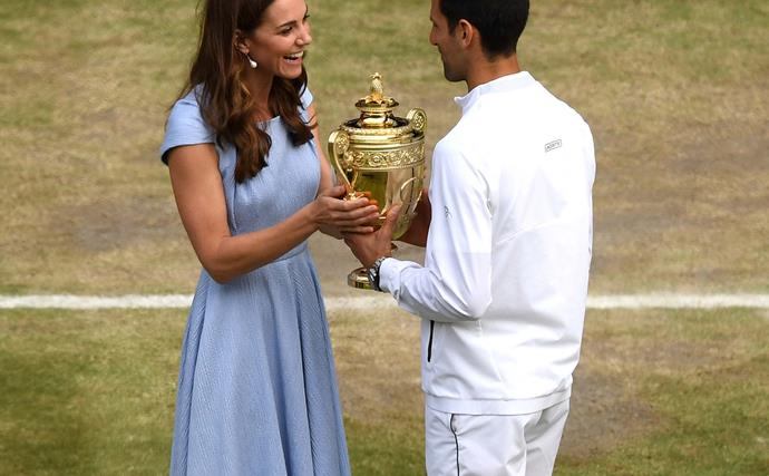 kate middleton and novak djokovic