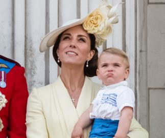 prince louis and kate middleton trooping of the colour 2019