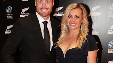 Laura McGoldrick thanks her Black Caps husband Martin Guptill for being a great role model for their daughter