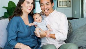 Fear and panic followed by joy: The Edge's Chang Hung welcomes his much longed-for daughter