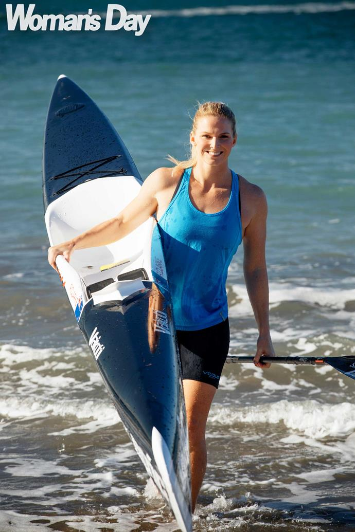 Rachel started out as a surf lifesaver before finding a passion for surf ski racing.