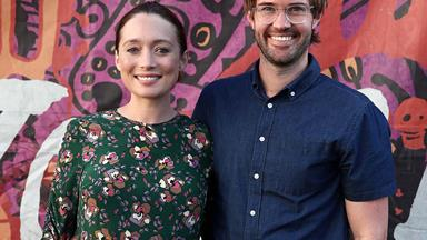 Congratulations! Antonia Prebble and Dan Musgrove have welcomed a baby boy