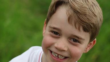 See all the sweet birthday messages Prince George received which includes an adorable never-before-seen photo