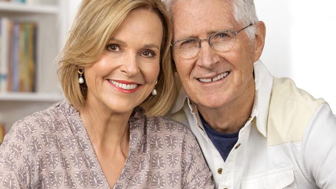 Judy Bailey and her husband Chris