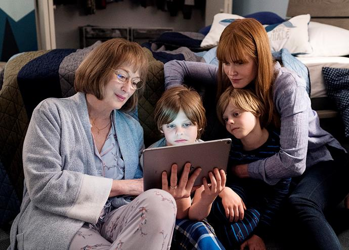 Meryl with Nicole Kidman in *Big Little Lies*
