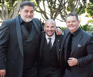 Masterchef Australia judges Matt Preston, George Calombaris and Gary Mehigan