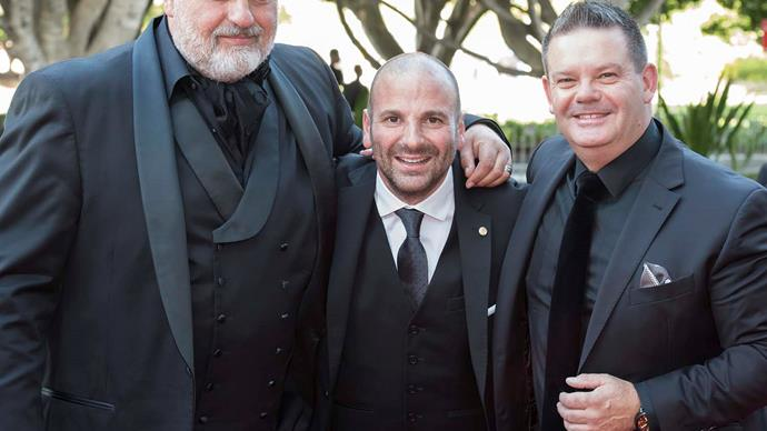 Masterchef Australia judges Matt Preston, George Calombaris and Gary Mehigan