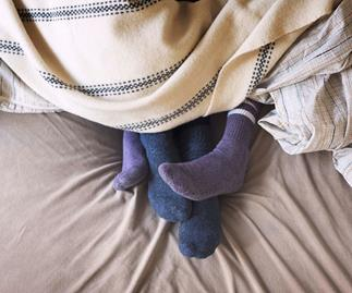Turns out wearing socks to bed is anything BUT unsexy – here's why