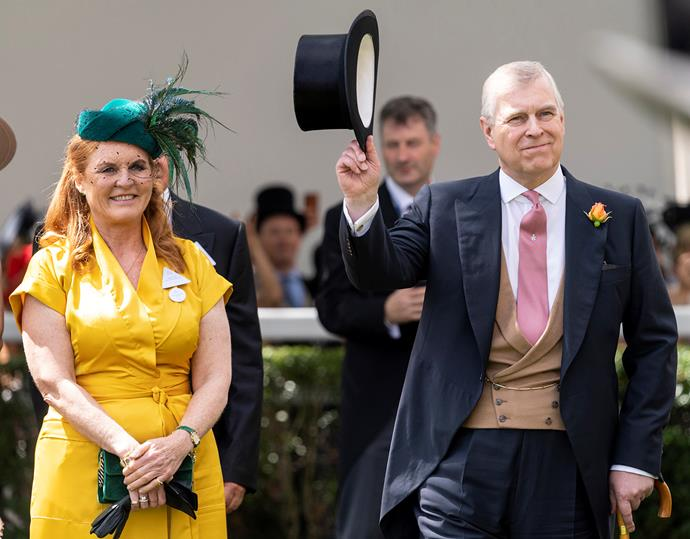 Sarah Ferguson attended the Royal Ascot this year with Prince Andrew. *(Image: Getty)*