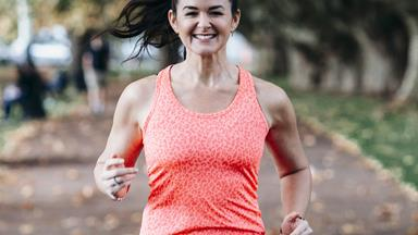 How exercise became Janelle Brunton-Rennie's strength and solace after losing her husband to cancer