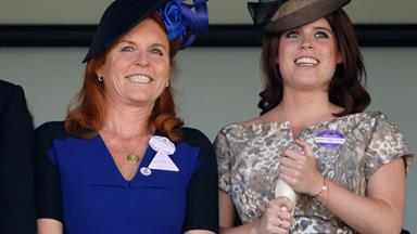 Watch as Sarah Ferguson addresses the Princess Eugenie pregnancy rumours and reveals her love for tequila