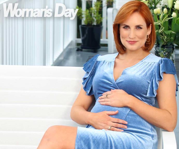 Samantha Hayes pregnancy pregnant