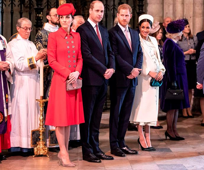 Despite splitting from The Royal Foundation, Harry and Meghan are clearly still dedicated on to working with William and Kate for joint causes. *(Image: Getty)*