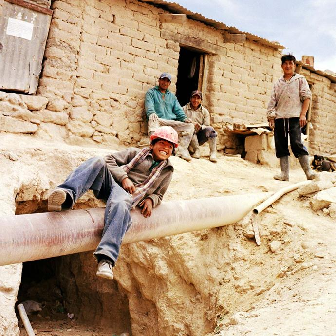 Roberto's life expectancy dropped to 15 years when he started working in the mines in Bolivia.   *Image: Jessie Casson*