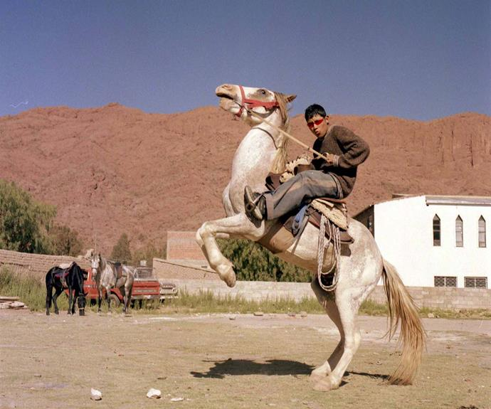 Noel, from Bolivia, loved horses but his dad wanted him to be a teacher.   *Image: Jessie Casson*