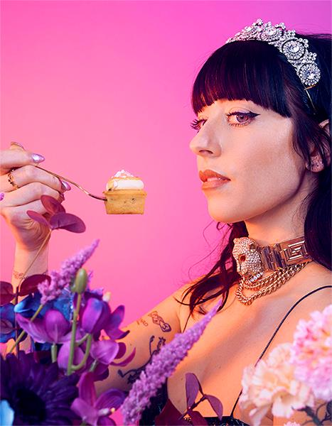 The Queen of cakes wants her wares on forks of sweet-toothed connoisseurs worldwide. *This image and the one above: James Lowe*