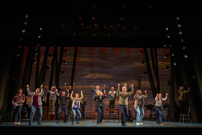 The brilliant cast of Come From Away. *(Image: Supplied)*