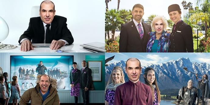 """One Litt to rule them all?"" Air New Zealand's response to Rick Hoffman offering to be in their safety video."
