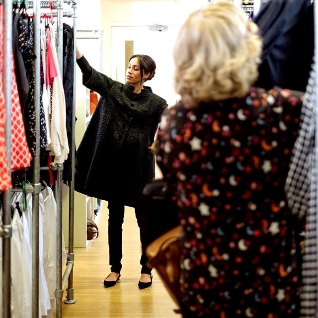 Meghan's capsule collection will feature workwear essentials, and will help to benefit one of her patronages, Smart Works. *(Image: Instagram/@sussexroyal)*
