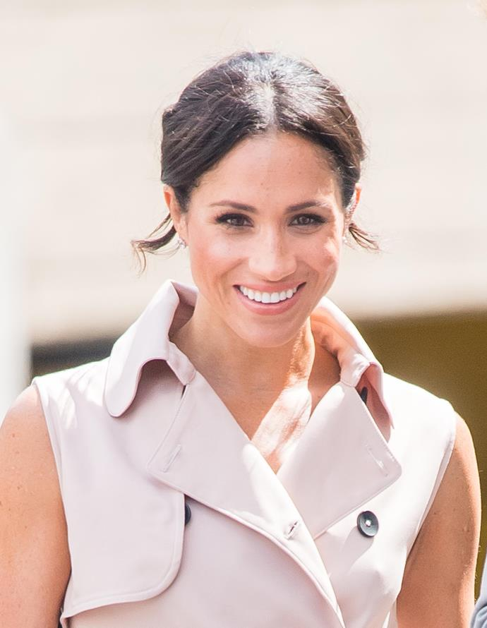 Duchess Meghan's 'Forces for Change' British *Vogue* guest edited issue highlights trailblazing women. *(Image: Getty)*