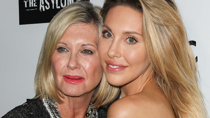 Olivia Newton-John with daughter Chloe Lattanzi