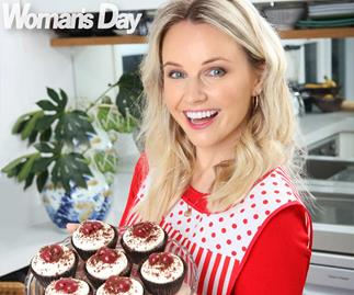 Kimberley Crossman baking
