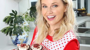 Kimberley Crossman is donning a pinny for a very good cause