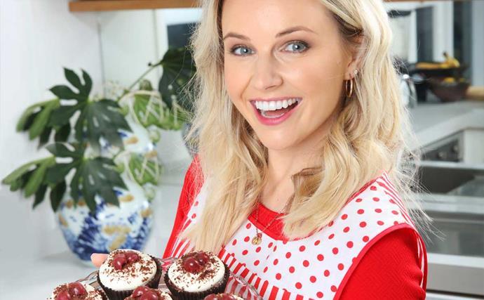 Kimberley Crossman baking