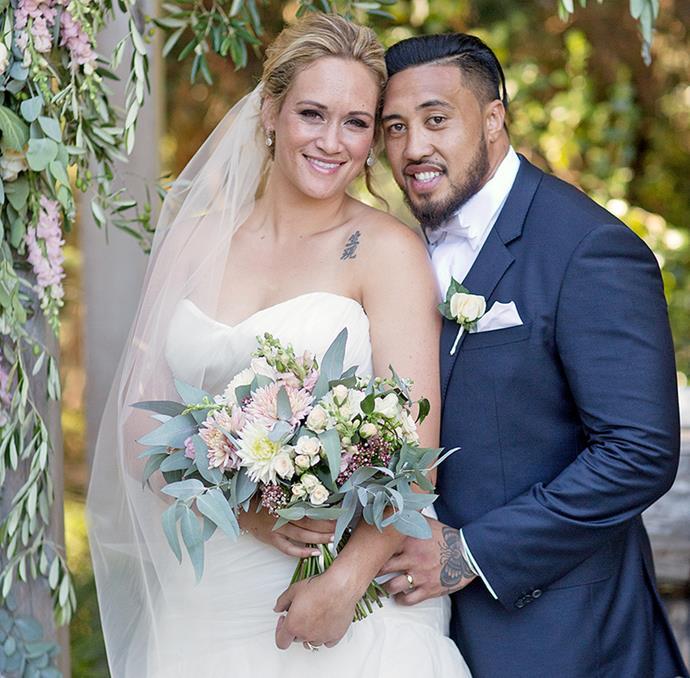 The former Silver Fern married her high-school sweetheart Jim in 2016.