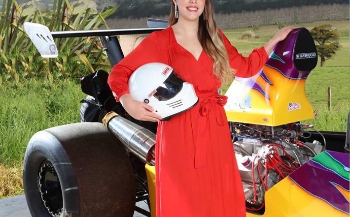 Meet new Zealand's fastest under-21 female drag racer
