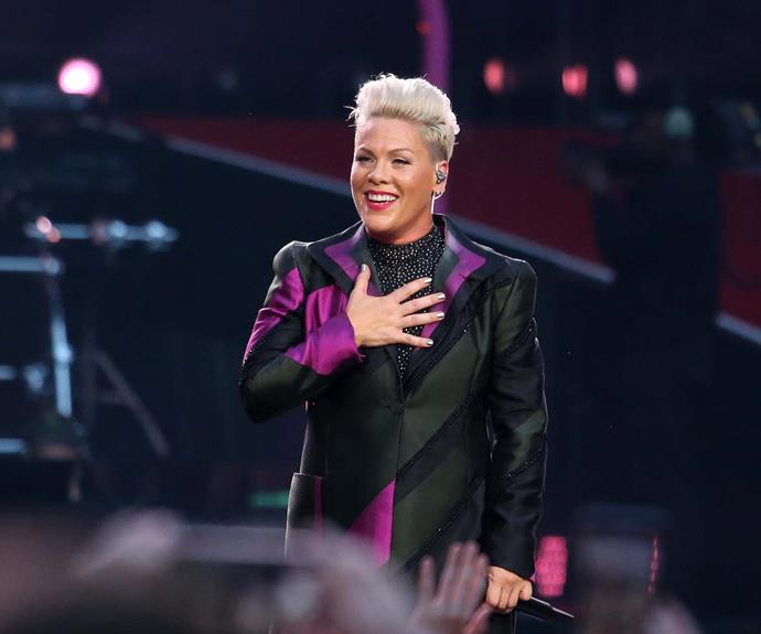 Why Pink will always throw shade on mom shamers