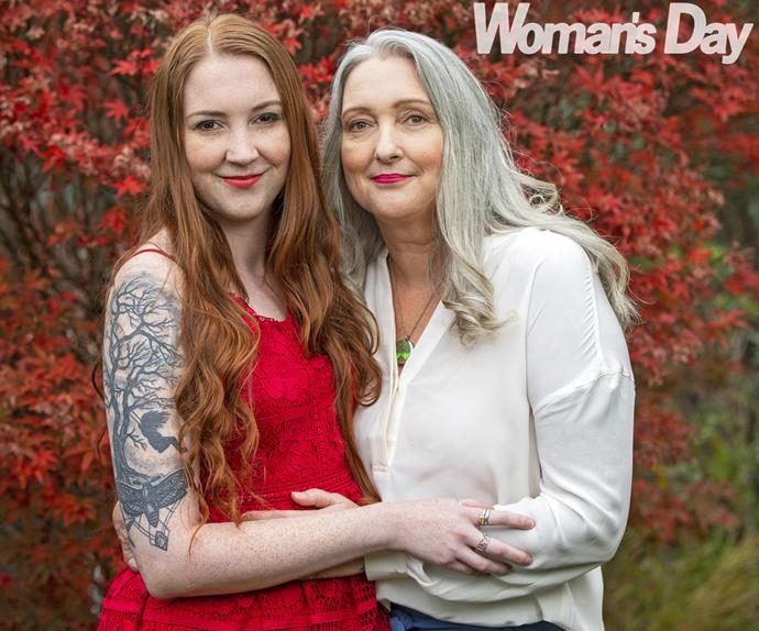 Maree Davies Meates and daughter Hanna Meates