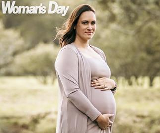 Cathrine Latu pregnant