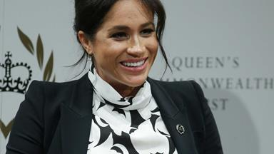 Duchess Meghan's cheeky joke about how she and Prince Harry met