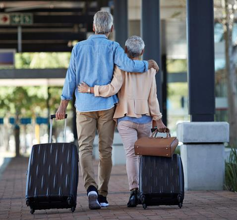 You should factor plans like travel into your retirement saving plan.