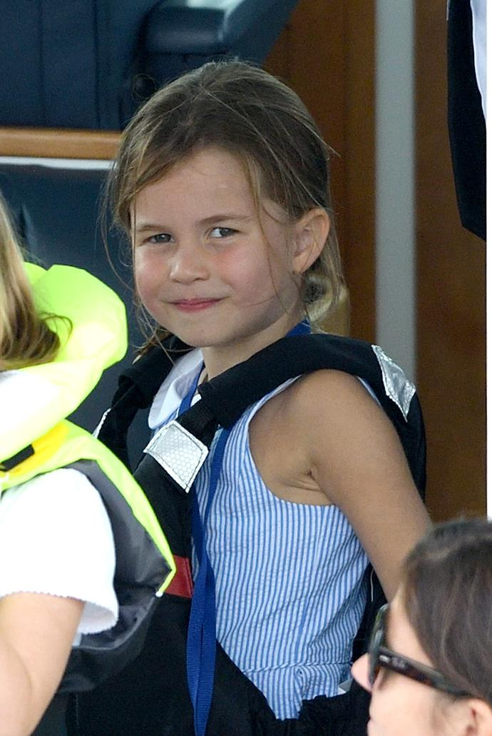 Princess Charlotte is looking more and more grown up! *(Image: Getty)*