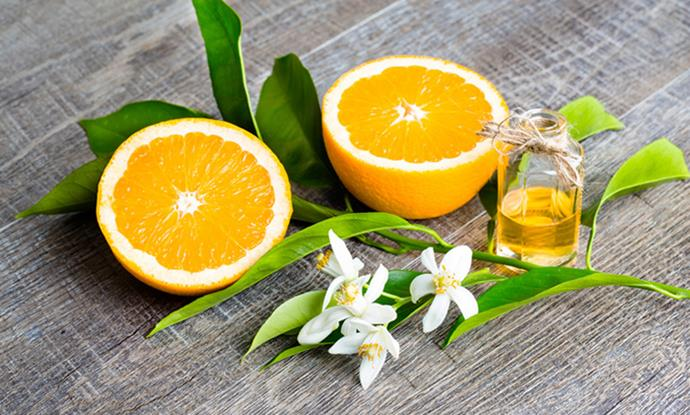 Neroli essential oil is made from the blossoms of the bitter orange tree.