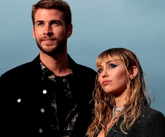 Miley and Liam had been together ten years. *Photo: Getty*