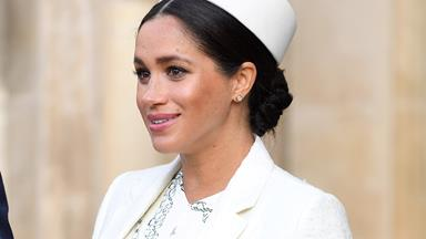 Is this Duchess Meghan's favourite cake flavour? Her 38th birthday cake revealed