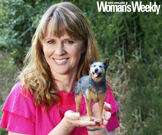 Dr Tatiana Kalnins miniature felt animals